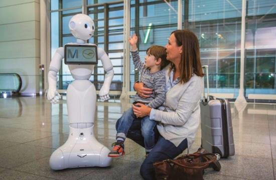 Γνωρίστε την Josie Pepper, το ανθρωποειδές ρομπότ στο αεροδρόμιο του Μονάχου