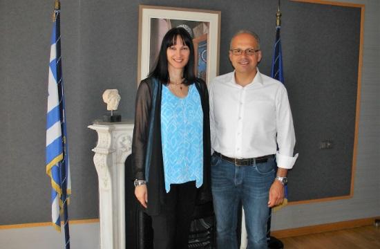 Συνάντηση Κουντουρά με το δήμαρχο Σίφνου για θέματα τουριστικής προβολής