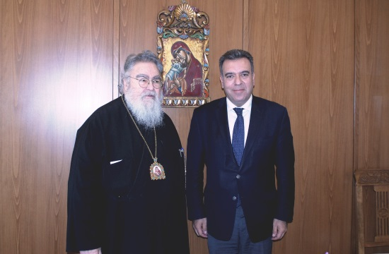 Συνάντηση Μ. Κόνσολα με τον Μητροπολίτη Δωδώνης για τον θρησκευτικό τουρισμό