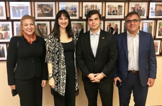 Ελ. Κουντουρά: Συναντήσεις στις ΗΠΑ για τουριστική ανάπτυξη & επενδύσεις στην Ελλάδα
