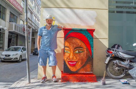 Κάλεσμα του δήμου Αθηναίων για να φιλοτεχνηθούν 50 ακόμη ΚΑΦΑΟ στο Εμπορικό Τρίγωνο