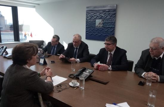 Συνάντηση για τη βελτίωση της ακτοπλοϊκής εξυπηρέτησης στο Β. Αιγαίο
