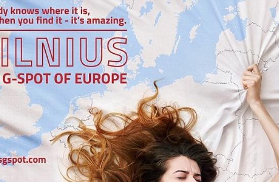 Βίλνιους: Η ...σεξουαλική πρωτεύουσα της Ευρώπης, σύμφωνα με καμπάνια