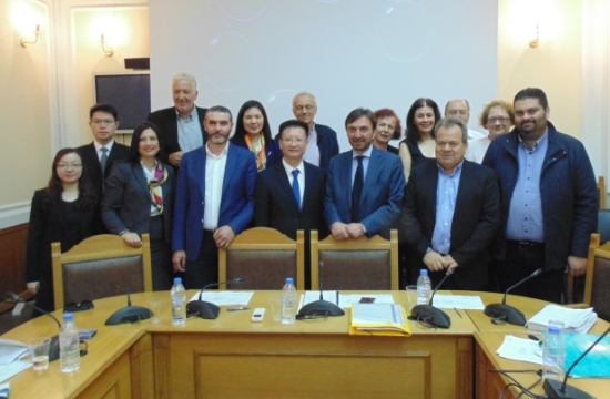 Περιφέρεια Κρήτης: Συνάντηση με CISMEF για εξαγωγές και τουρισμό από την Κίνα