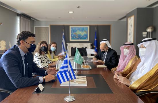 Συνάντηση Κικίλια με τον Υπουργό Επενδύσεων της Σαουδικής Αραβίας