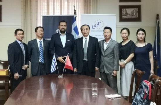 Συνεργασία της Περιφέρειας Κ. Μακεδονίας με επαρχίες της Κίνας στον τουρισμό