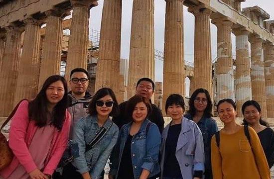 Fam trip για MICE Κινέζους τουριστικούς πράκτορες
