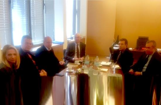 Συνάντηση του Τομεάρχη Τουρισμού της ΝΔ Μ. Κόνσολα με το ΞΕΕ