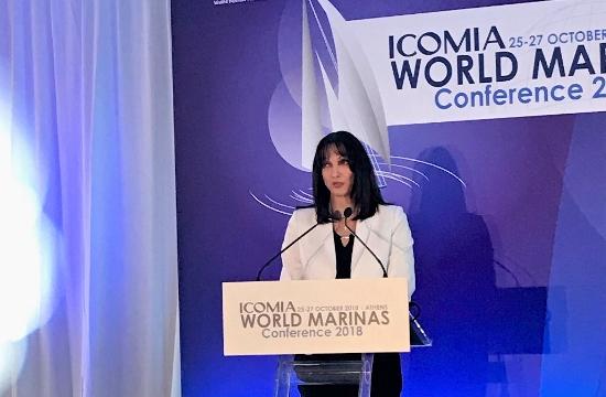 Ε. Κουντουρά: Ο θαλάσσιος τουρισμός προτεραιότητα της εθνικής στρατηγικής