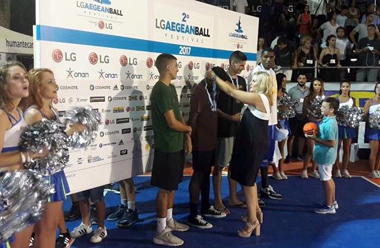 Αθλητικός τουρισμός: Η Ευ. Κουρνέτα στο LG Aegean Ball Festival