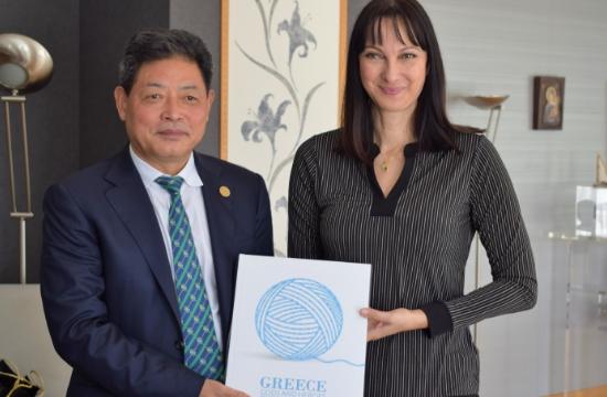Tουρισμός και επενδύσεις στην ατζέντα συνάντησης Κουντουρά με τον πρόεδρο του Silk Road