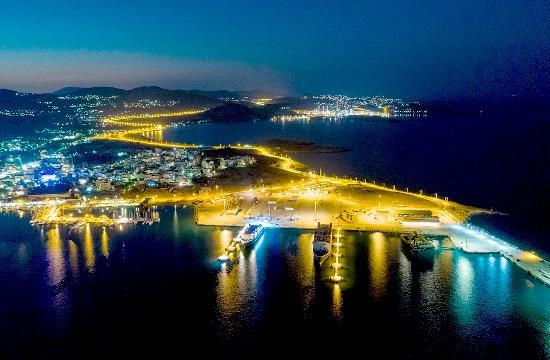 Πρώτη θαλάσσια διασύνδεση της ηπειρωτικής Ελλάδας (Λαύριο) με την Τουρκία (Cesme)