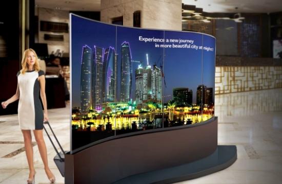 Η LG στην έκθεση 100% Hotel Show ως Digital Signage Sponsor