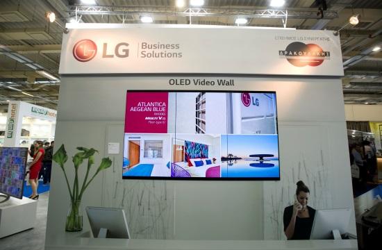 Η LG παρουσίασε το «έξυπνο» δωμάτιο με ολοκληρωμένες ξενοδοχειακές λύσεις στην Xenia 2019