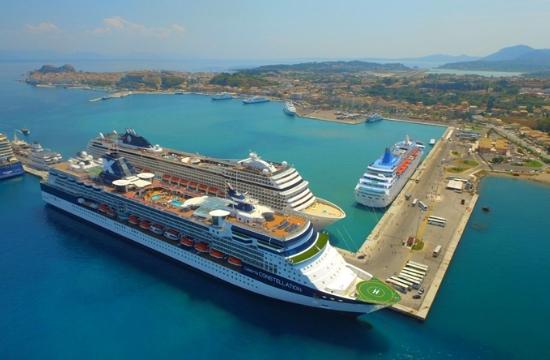 87.000 επισκέπτες κρουαζιέρας στην Κέρκυρα τον Ιούνιο