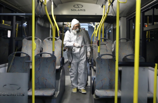 ΟΑΣΑ: Καθημερινή απολύμανση και αντισηπτικά στα οχήματα και τους συρμούς