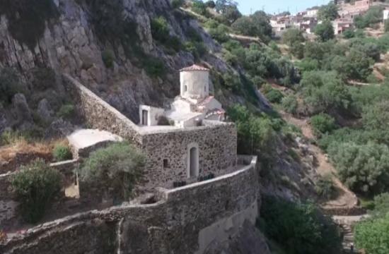 Ο θρύλος με την πριγκίπισσα σε ένα ελληνικό εκκλησάκι διαφορετικό από τα άλλα