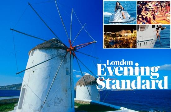 London Evening Standard: Αντίο Ίμπιζα, η Μύκονος είναι η νέα μόδα!
