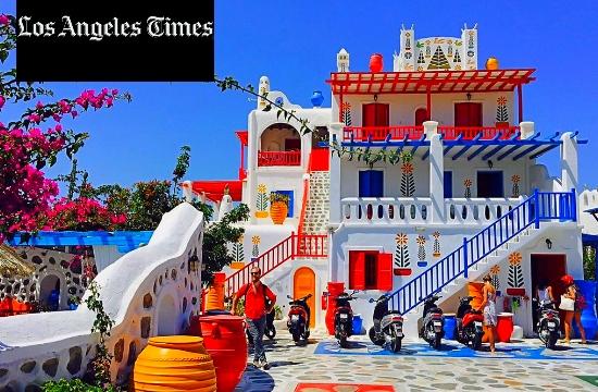Ύμνος για τον τουρισμό στην Ελλάδα από τους LA Times
