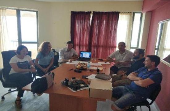 Συναντήσεις εργασίας στα λουτρά της Αγίας Παρασκευής του δήμου Κασσάνδρας