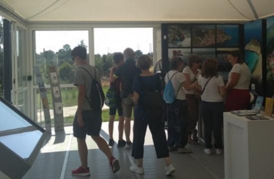 Ρεκόρ επισκεψιμότητας στο Κέντρο Πληροφοριών Τουριστών Ισθμού