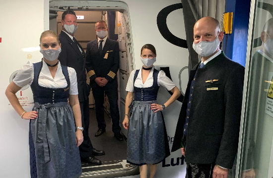 Lufthansa: Παραδοσιακές βαυαρικές ενδυμασίες για το Oktoberfest σε πτήσεις της Αθήνας και της Σαντορίνης