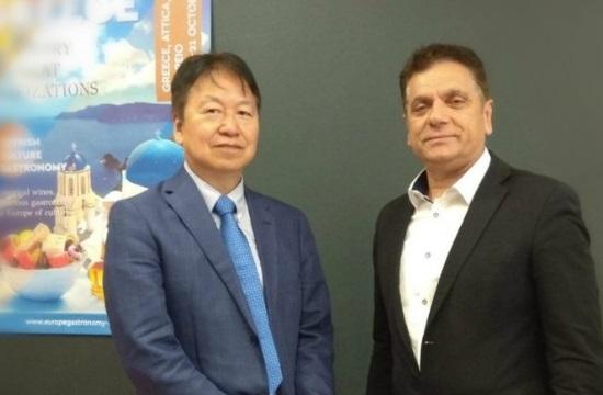 Η Πρεσβεία της Ιαπωνίας στο Ευρωπαϊκό Συνέδριο Γαστρονομίας και Οίνου