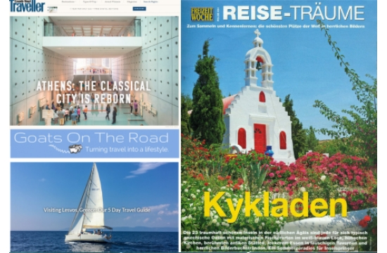 Η Marketing Greece προκαλεί το ενδιαφέρον διεθνών μέσων για την Ελλάδα