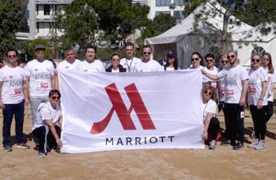Athens Marriott: Συμμετοχή στον φιλανθρωπικό αγώνα No Finsh Line