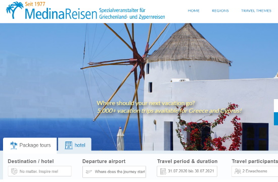 Medina Reisen: Πτώχευσε ο γερμανός σπεσιαλίστας διακοπών στην Ελλάδα