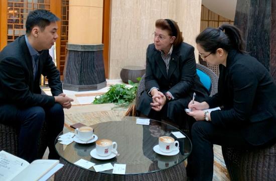 Συνεργασία Ελλάδας-Κίνας στις κινηματογραφικές παραγωγές