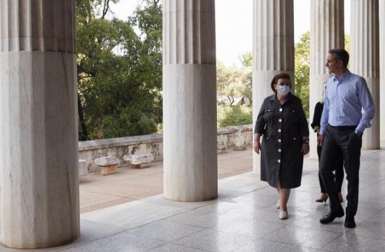 K. Μητσοτάκης: «Δεν νοείται Ελλάδα χωρίς ανοιχτούς αρχαιολογικούς χώρους και χωρίς ανοιχτά μουσεία»