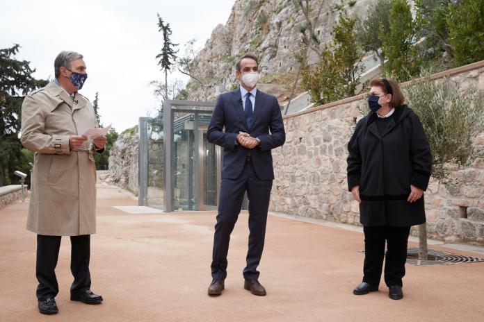 Εγκαίνια του νέου ανελκυστήρα πλαγιάς στην Ακρόπολη | Τι δήλωσε ο πρωθυπουργός