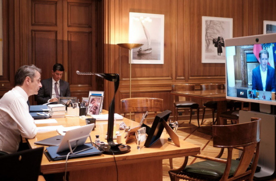 Ο Κ. Μητσοτάκης σε τηλεδιάσκεψη με τις χώρες Smart Covid-19 Management για το προσεκτικό άνοιγμα του τουρισμού