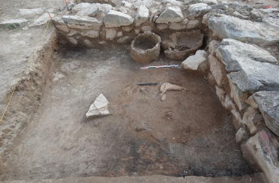 Σημαντικές αρχαιότητες μυκηναϊκού πολιτισμού στην ακρόπολη του Γλα Βοιωτίας