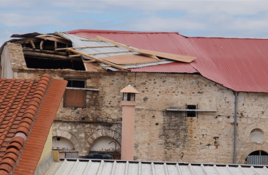 Υπ. Πολιτισμού: Ποιά μνημεία υπέστησαν ζημιές από την κακοκαιρία στη Χαλκιδική