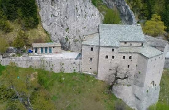 Το μοναστήρι που ξεχωρίζει στο «θρόνο» των Αγράφων