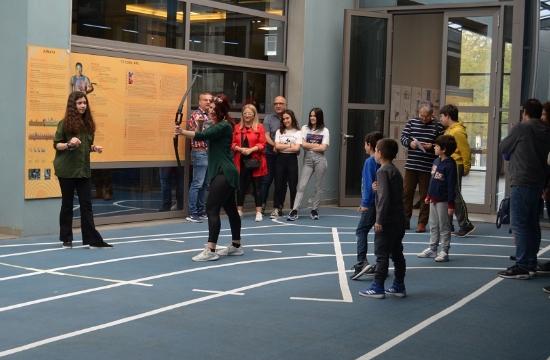 Εκπαιδευτική δράση στο Ολυμπιακό Μουσείο στη Θεσσαλονίκη