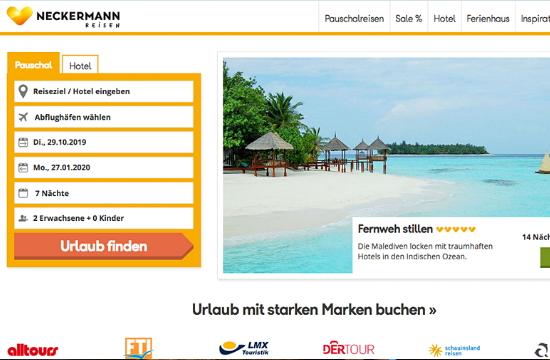 Γερμανικός τουρισμός: Ο Anex Tour αγόρασε και τα δικαιώματα του Neckermann Reisen