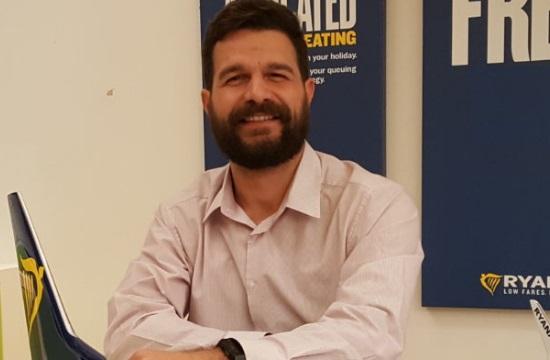 Έλληνας ο νέος Sales & Marketing Manager της Ryanair για την Α. Μεσόγειο