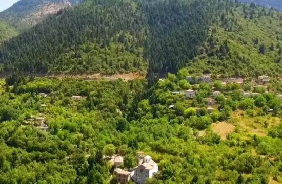 Το καταπράσινο χωριό με το περίφημο λικέρ