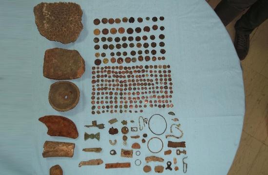 Γρεβενά: Συνελήφθη 58χρονος για κατοχή αρχαίων αντικειμένων