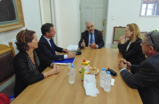 Ο Ολλανδός Πρέσβης στη Περιφέρεια Κρήτης- Τουρισμός & ανάπτυξη στις συζητήσεις
