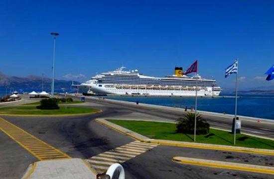 Πάνω από 75 κρουαζιερόπλοια της Costa Crociere στην Κέρκυρα το 2015