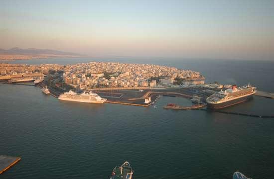 ΟΛΠ: Υποδοχή του νεότευκτου κρουαζιερόπλοιου VIKING SUN