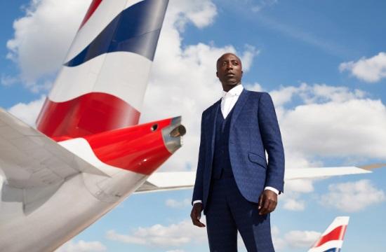Ο Ozwald Boateng σχεδιάζει τις νέες στολές της British Airways