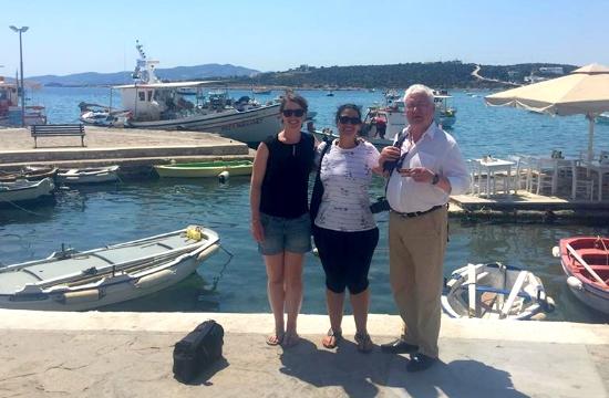 Πάρος: Φιλοξενία δημοσιογράφων και blogger από τη Γερμανία και τη Βρετανία