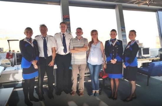 Πάρος: Υποδοχή των πρώτων επιβατών από Πράγα
