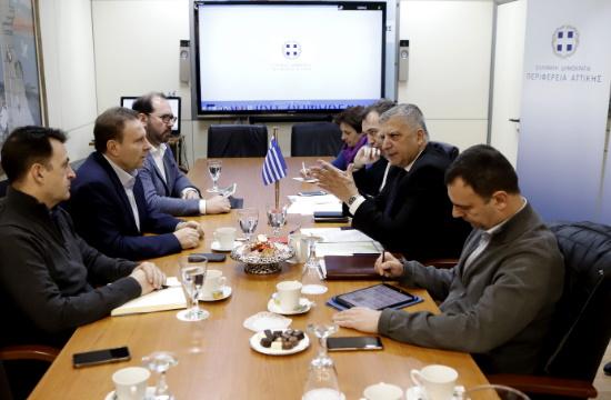 Συνάντηση ΟΛΠ με Γ. Πατούλη για την επέκταση του σταθμού κρουαζιέρας