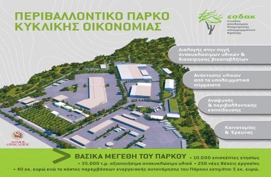 Περιβαλλοντικό Πάρκο Κυκλικής Οικονομίας στο Ηράκλειο (video)